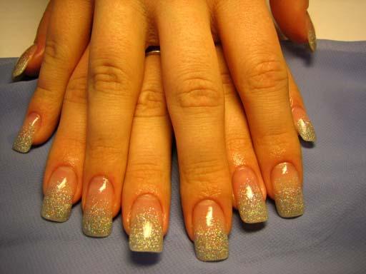 Блестки дизайн ногтей наращивание ногтей дизайн ногтей